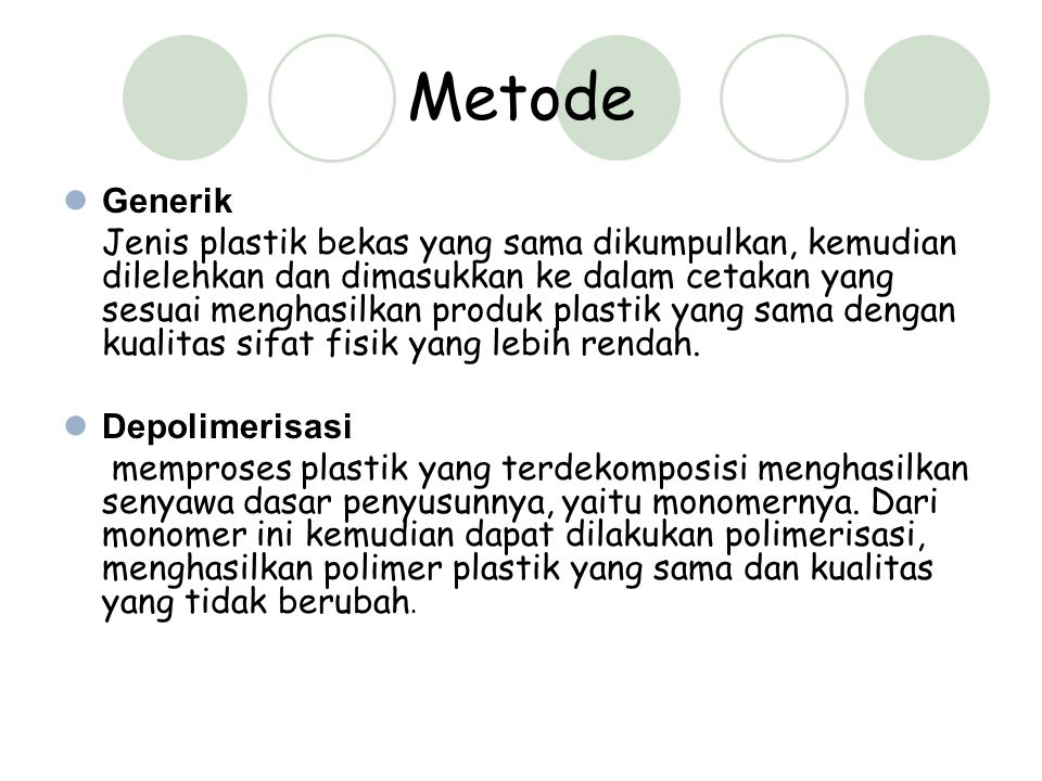 Metode Generik.