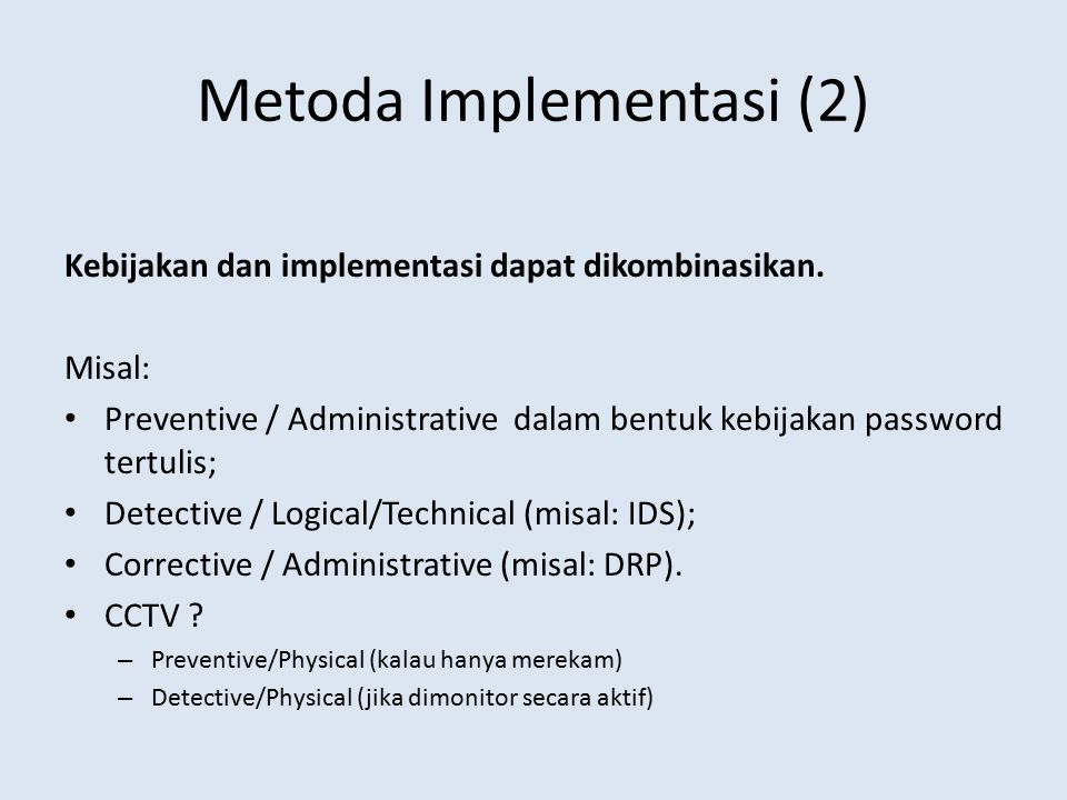 Metoda Implementasi (2)