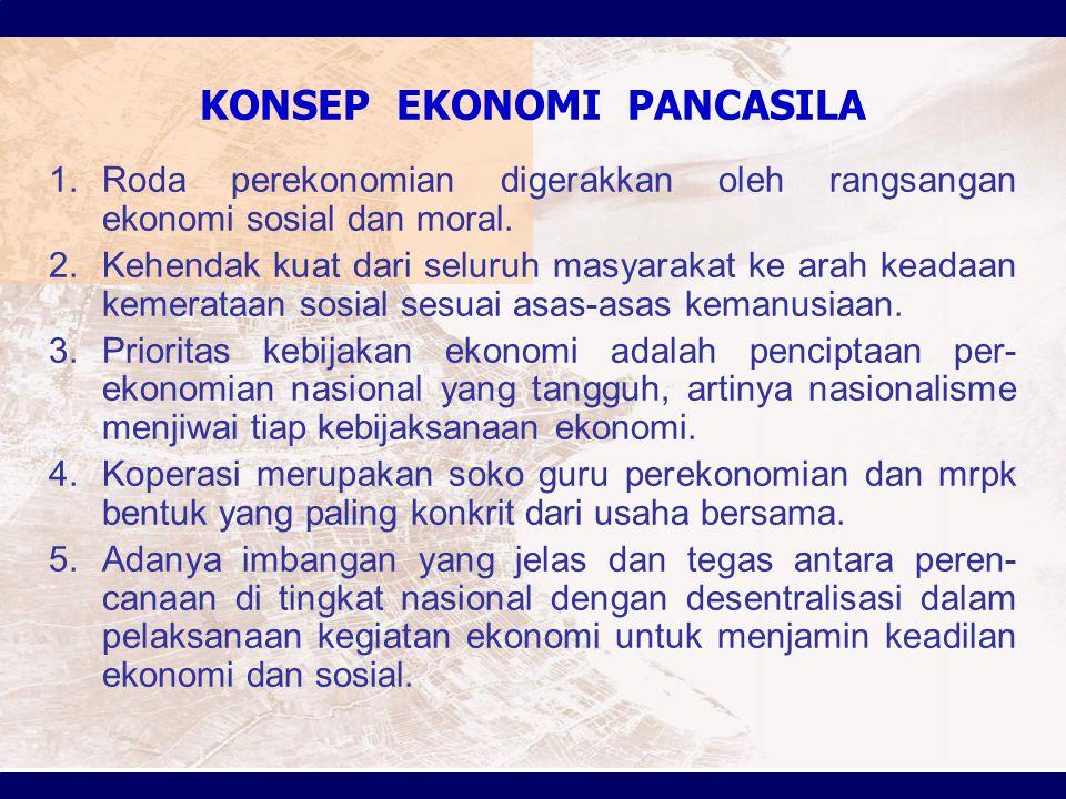 KONSEP EKONOMI PANCASILA