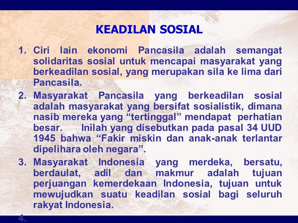 KEADILAN SOSIAL