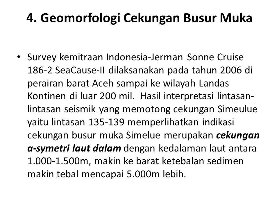 4. Geomorfologi Cekungan Busur Muka