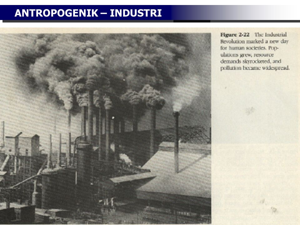 ANTROPOGENIK – INDUSTRI