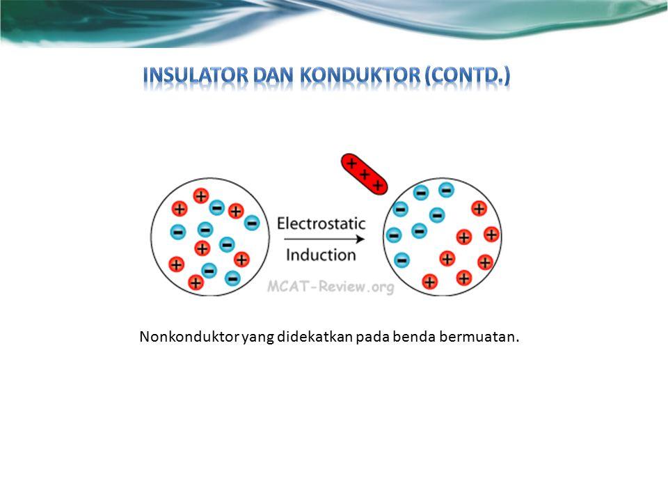 Insulator dan Konduktor (contd.)