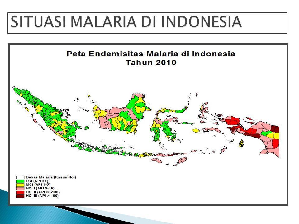 SITUASI MALARIA DI INDONESIA