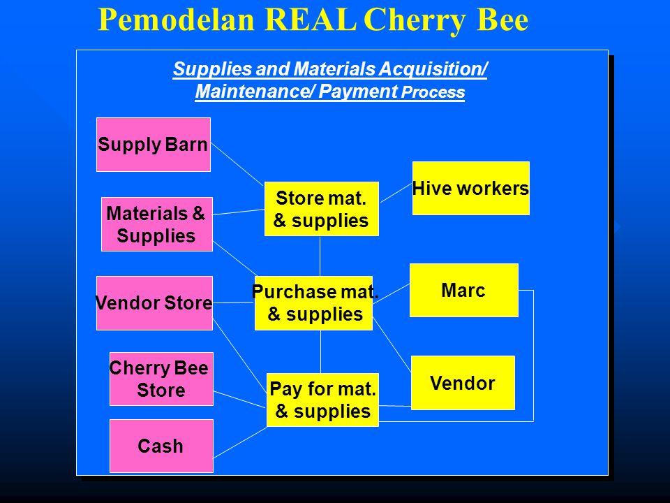 Pemodelan REAL Cherry Bee
