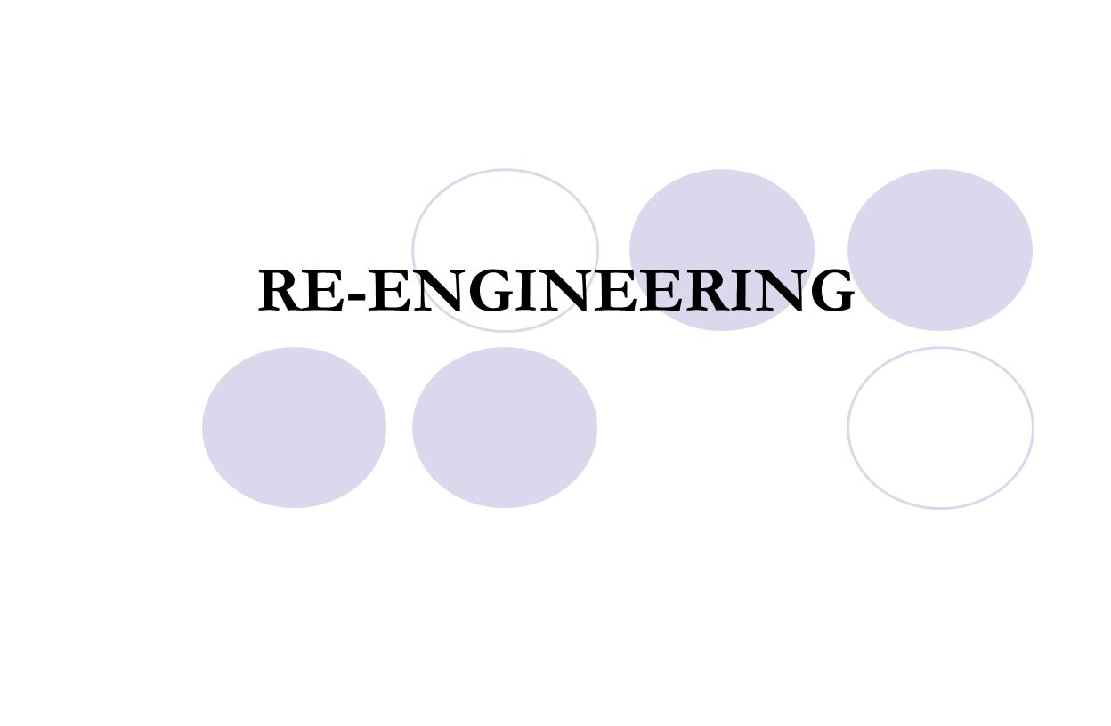 RE-ENGINEERING