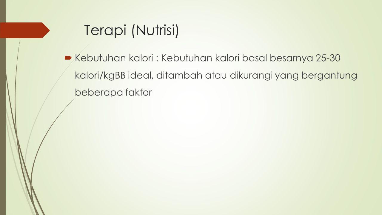 Terapi (Nutrisi)