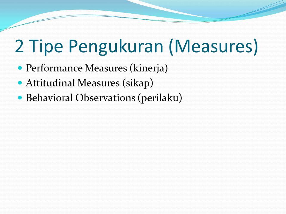 2 Tipe Pengukuran (Measures)
