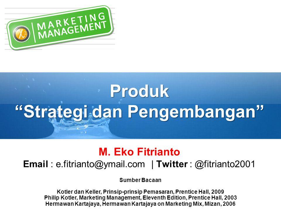 Produk Strategi dan Pengembangan