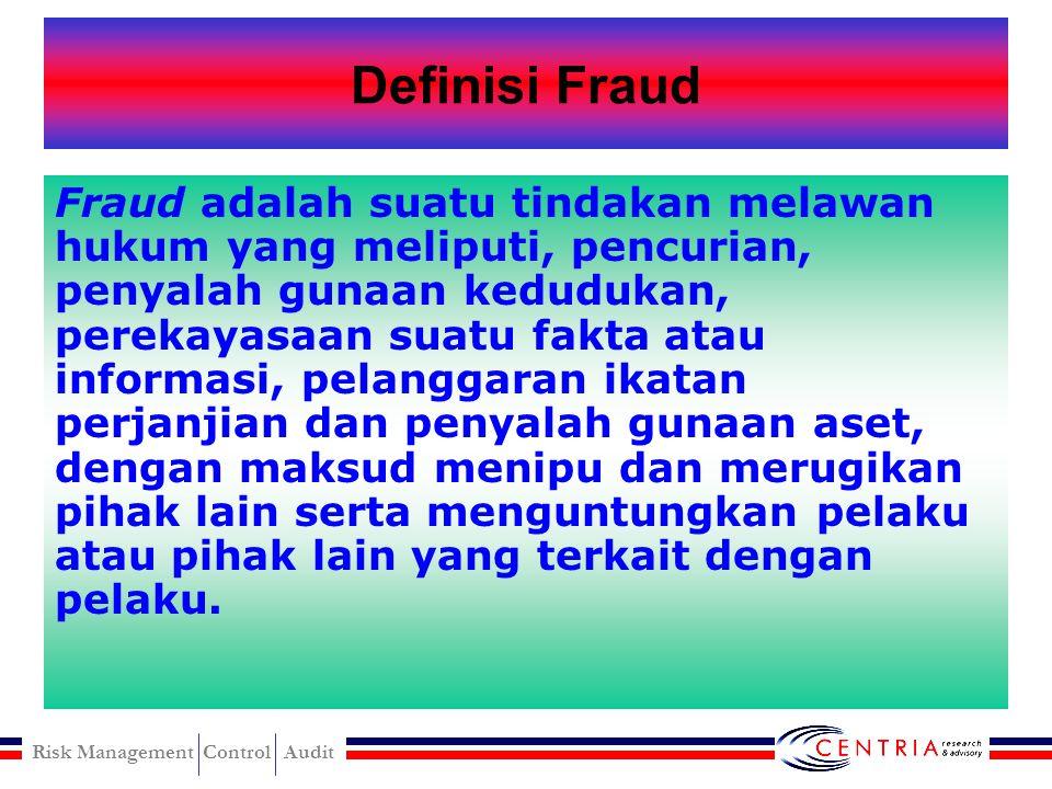 Definisi Fraud