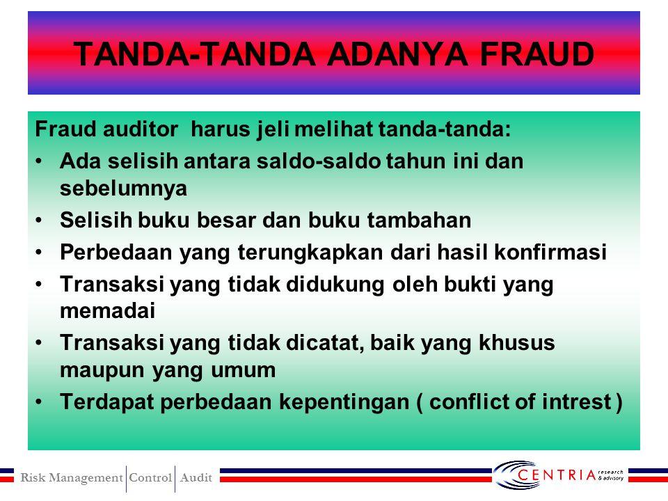 TANDA-TANDA ADANYA FRAUD