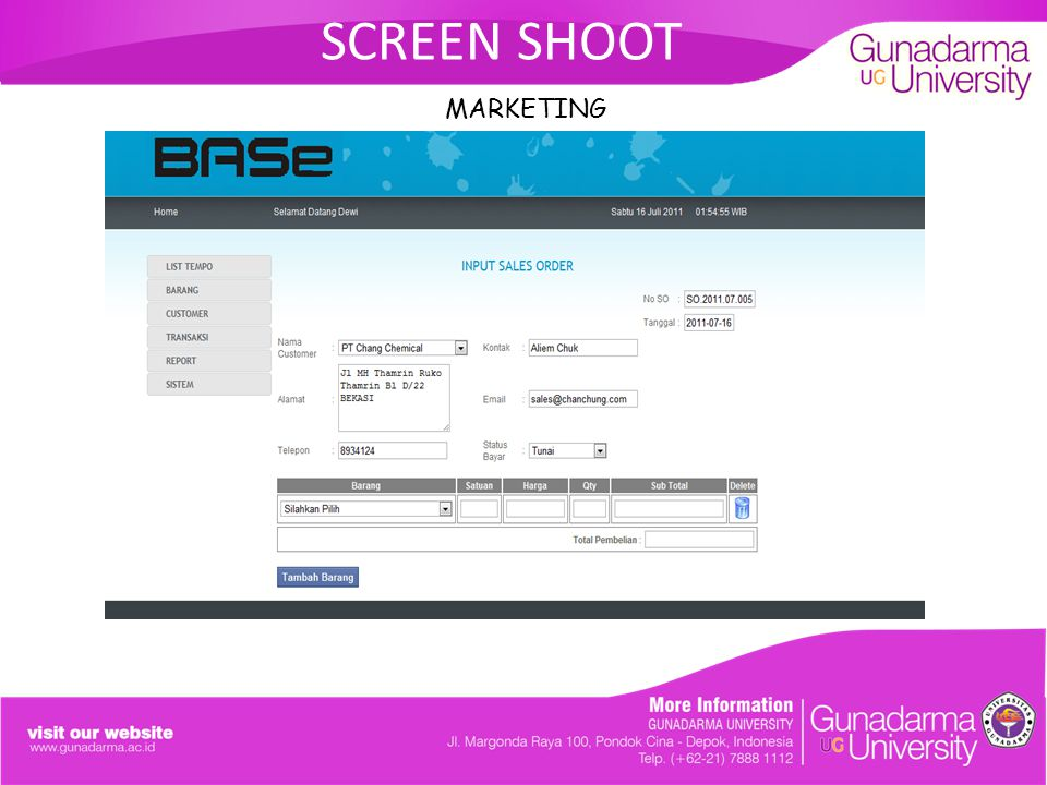 SCREEN SHOOT MARKETING