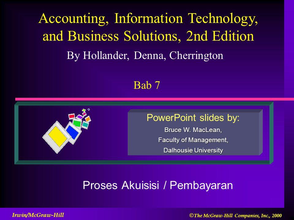 Proses Akuisisi / Pembayaran