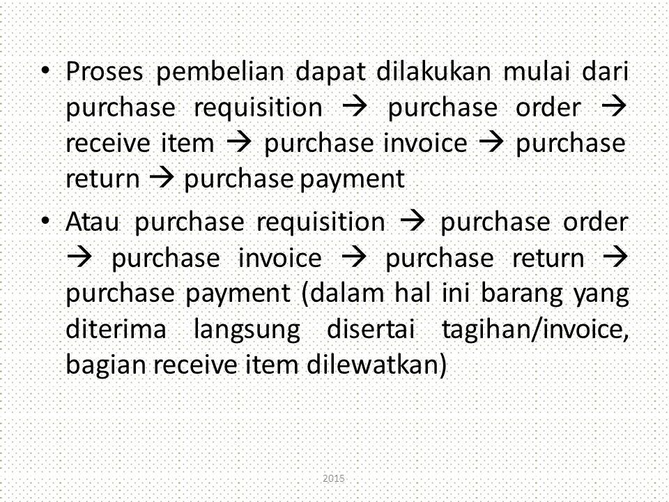 Proses pembelian dapat dilakukan mulai dari