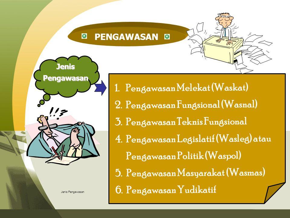 Pengawasan Melekat (Waskat) Pengawasan Fungsional (Wasnal)