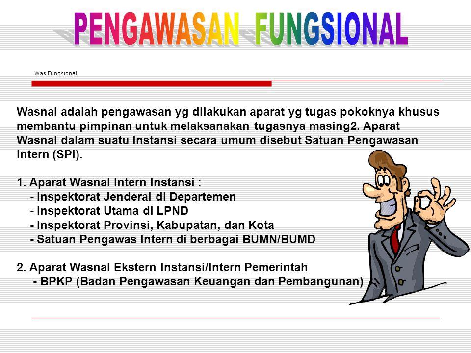 PENGAWASAN FUNGSIONAL