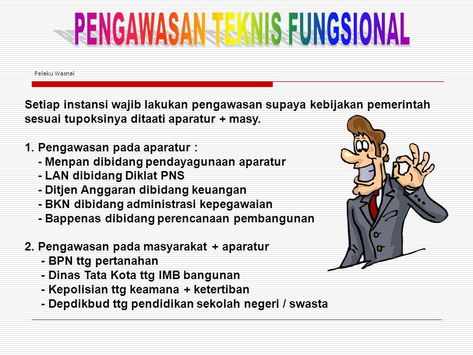 PENGAWASAN TEKNIS FUNGSIONAL
