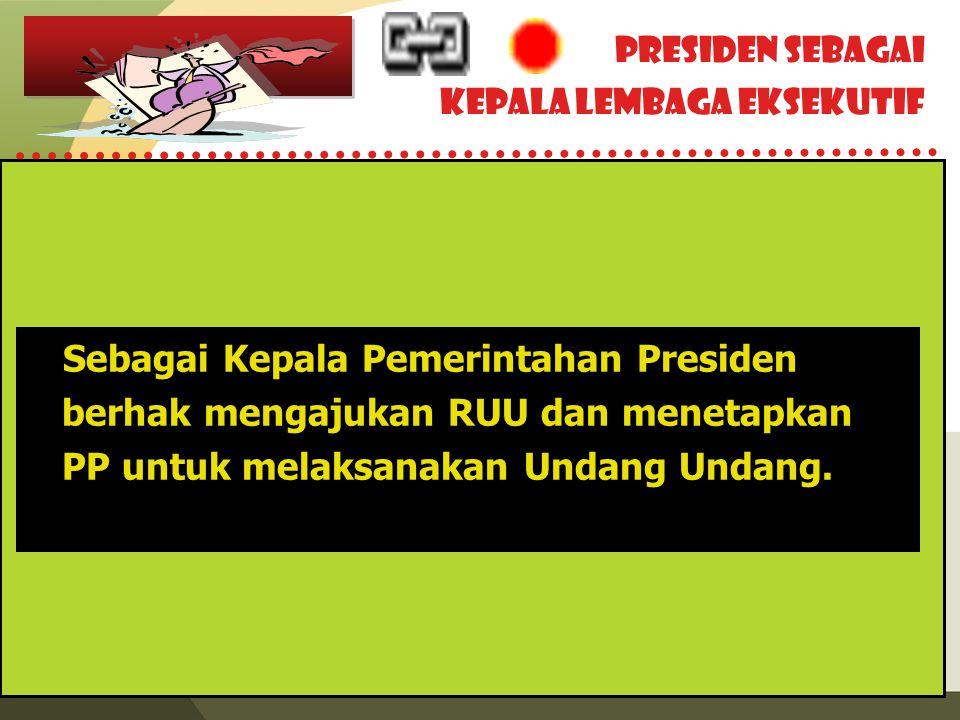 Kepala Lembaga Eksekutif