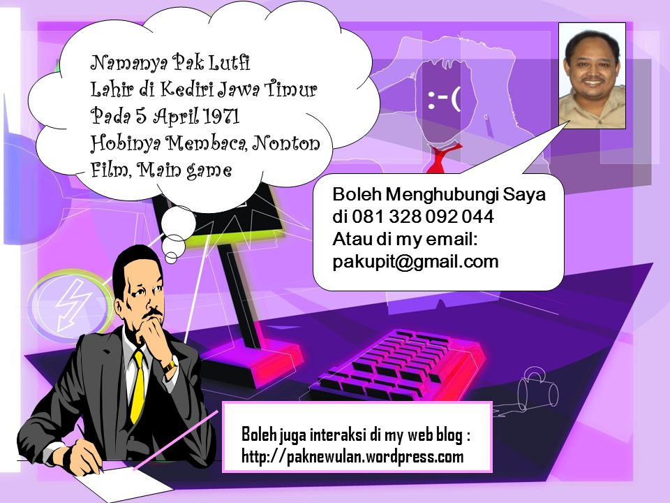 Lahir di Kediri Jawa Timur Pada 5 April 1971