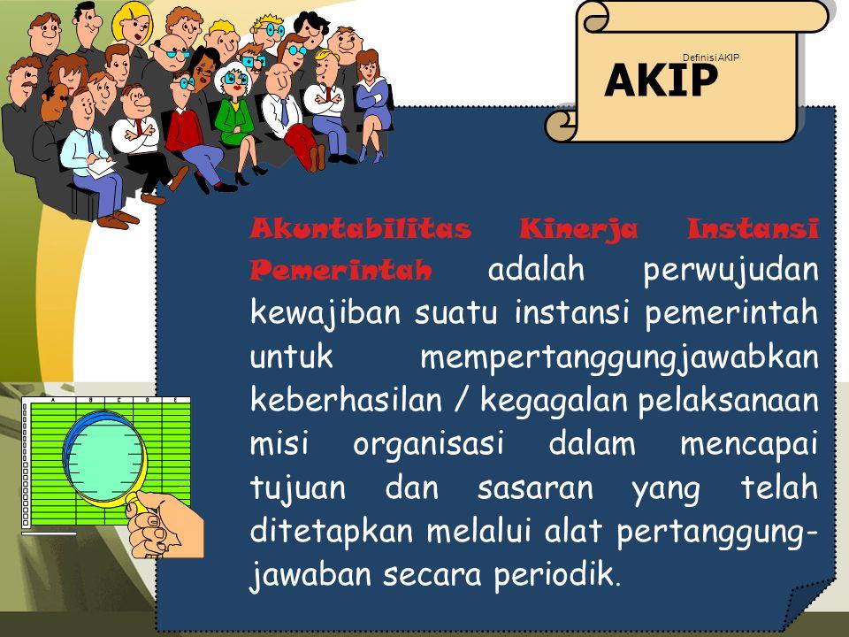 AKIP Definisi AKIP.