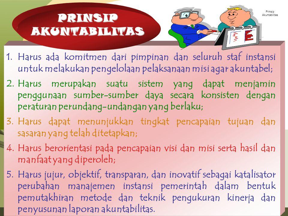 Prinsip Akuntabilitas