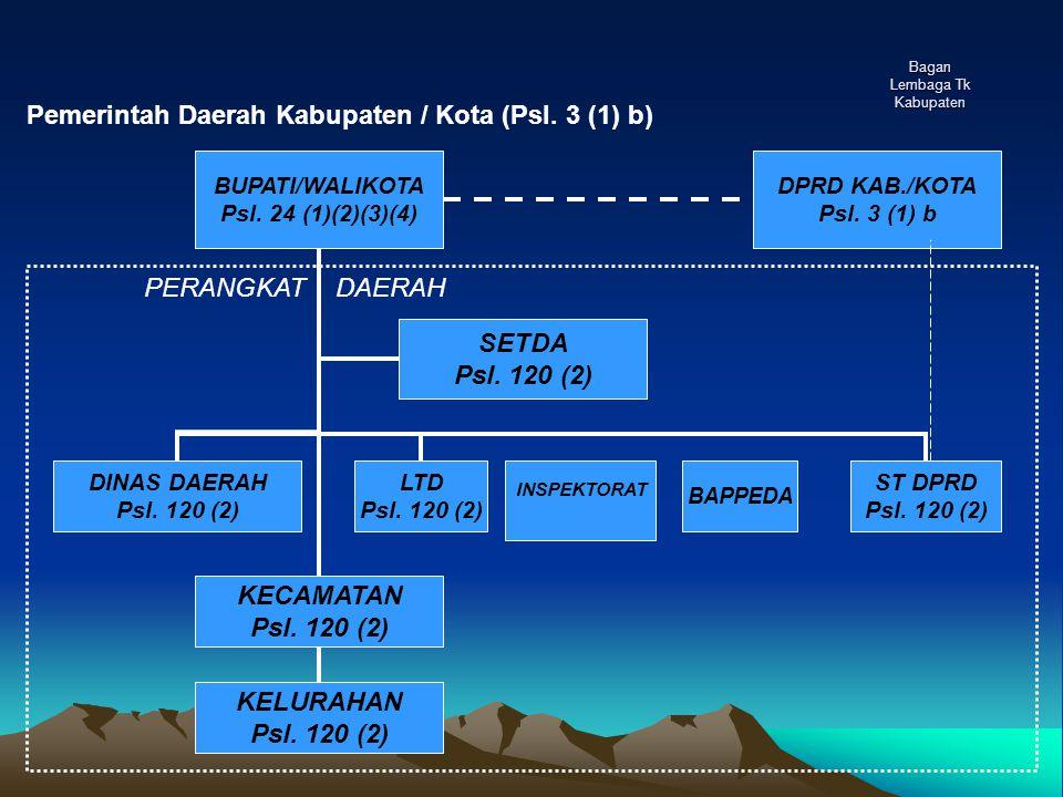 Bagan Lembaga Tk Kabupaten