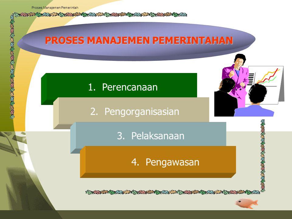 Proses Manajemen Pemerintah