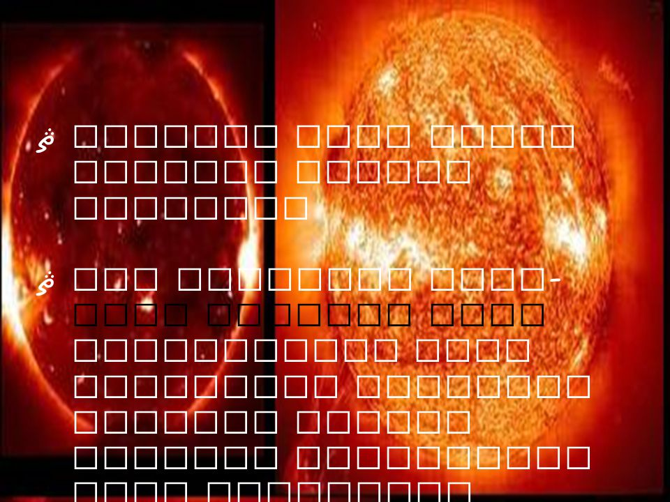 Bintang yang tidak meledak adalah matahari