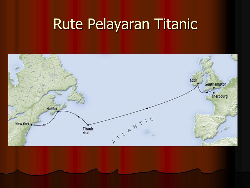 Rute Pelayaran Titanic