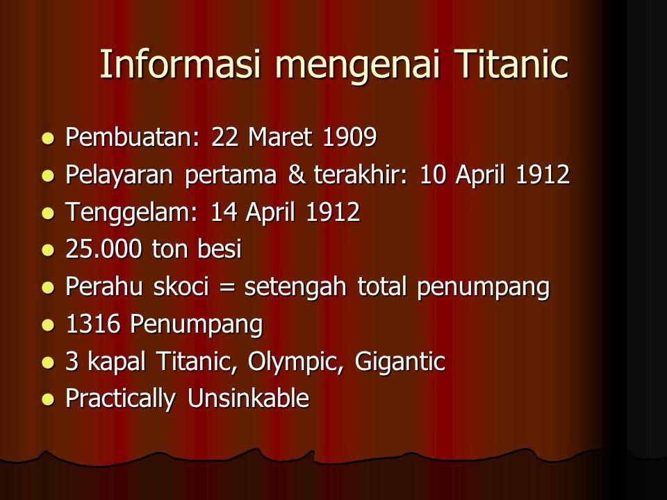 Informasi mengenai Titanic