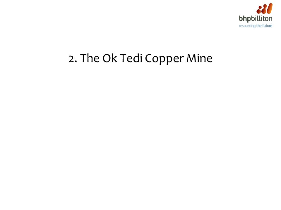 2. The Ok Tedi Copper Mine