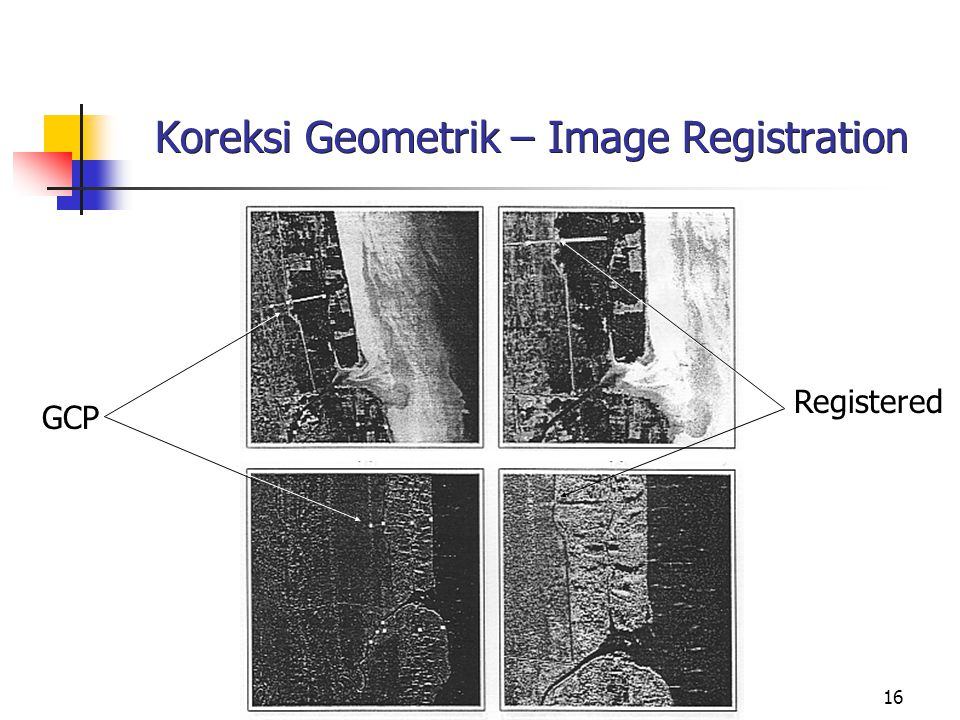 Koreksi Geometrik – Image Registration