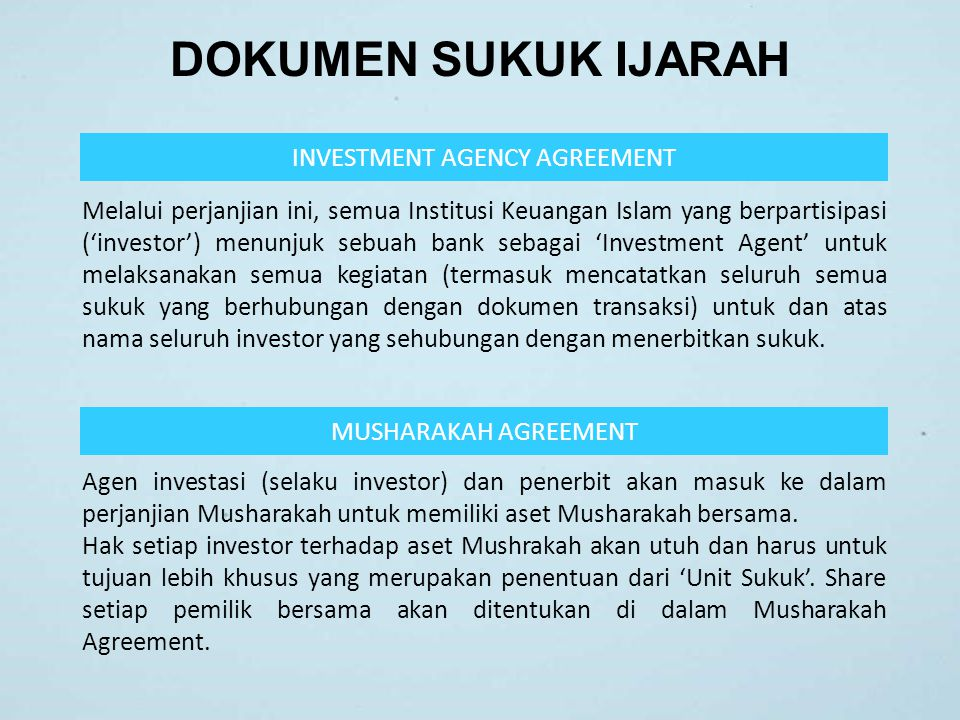 INVESTMENT AGENCY AGREEMENT