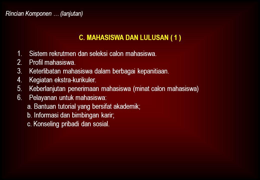 C. MAHASISWA DAN LULUSAN ( 1 )