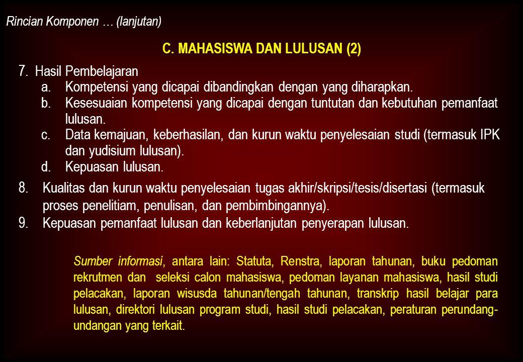 C. MAHASISWA DAN LULUSAN (2)