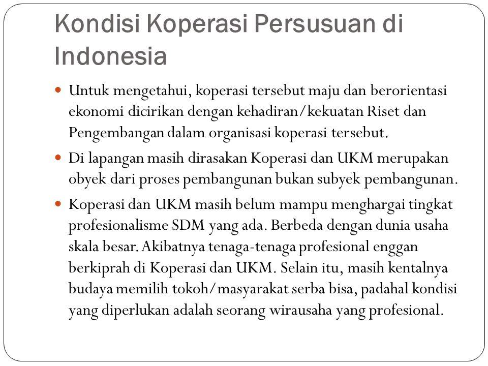 Kondisi Koperasi Persusuan di Indonesia