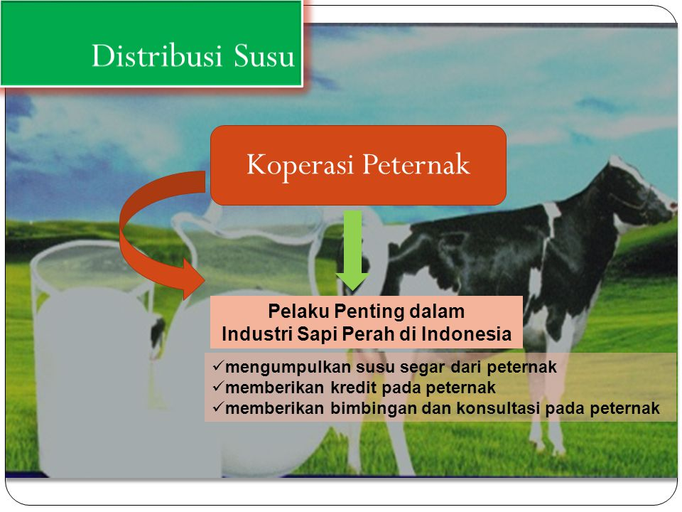 Industri Sapi Perah di Indonesia