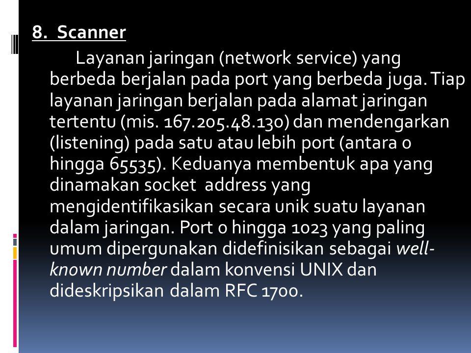 8. Scanner