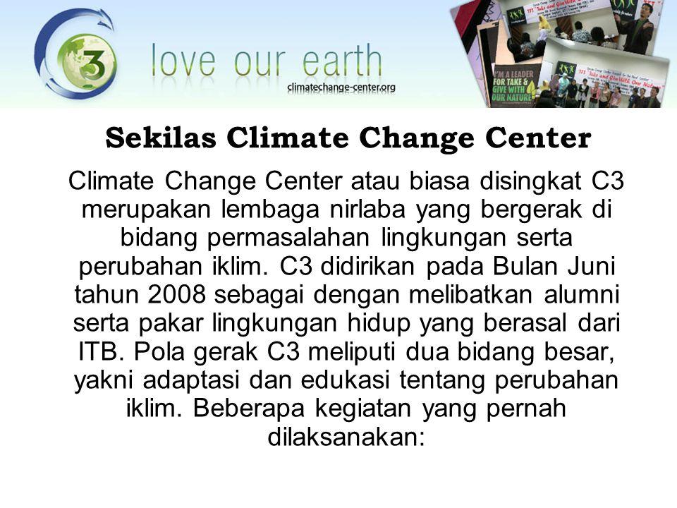 Sekilas Climate Change Center