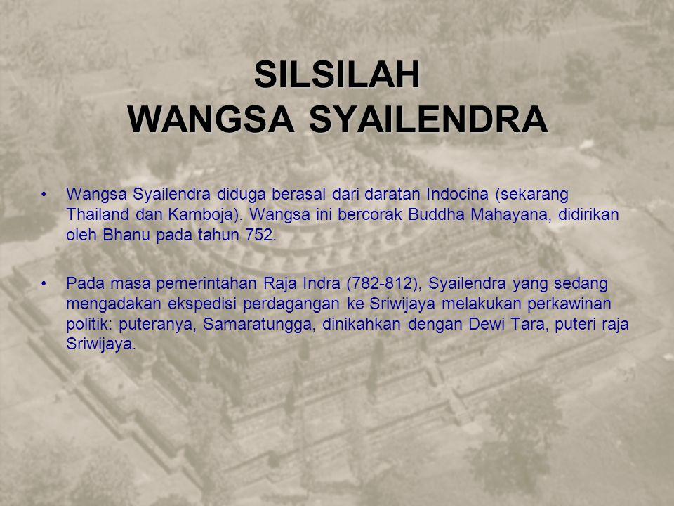 SILSILAH WANGSA SYAILENDRA