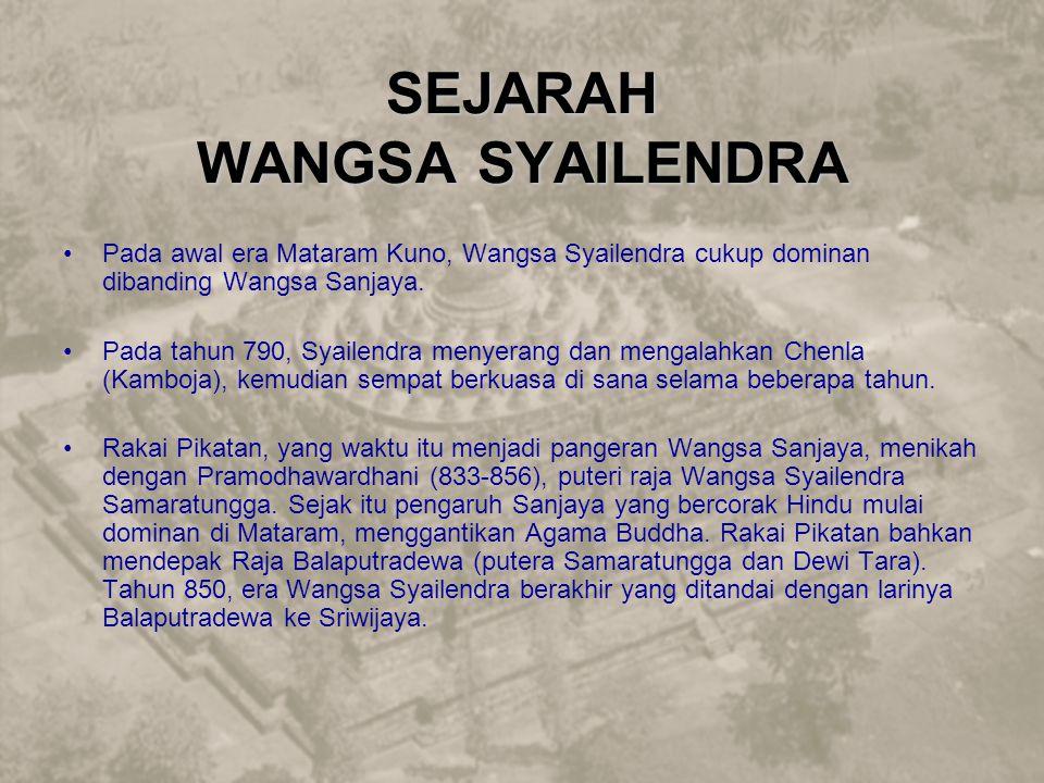 SEJARAH WANGSA SYAILENDRA