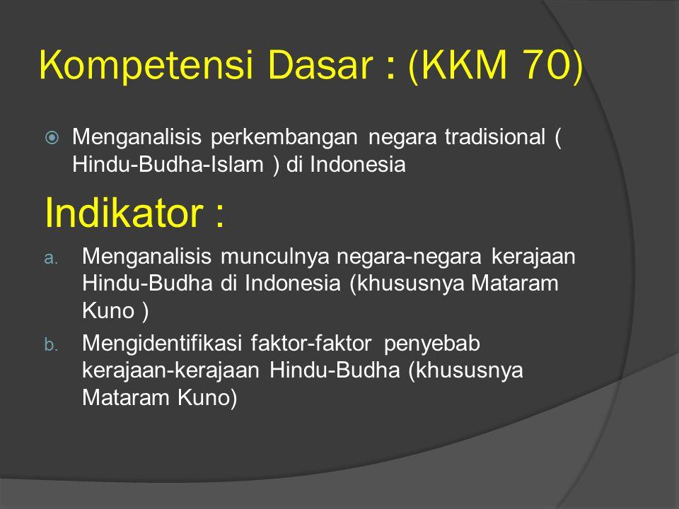 Kompetensi Dasar : (KKM 70)