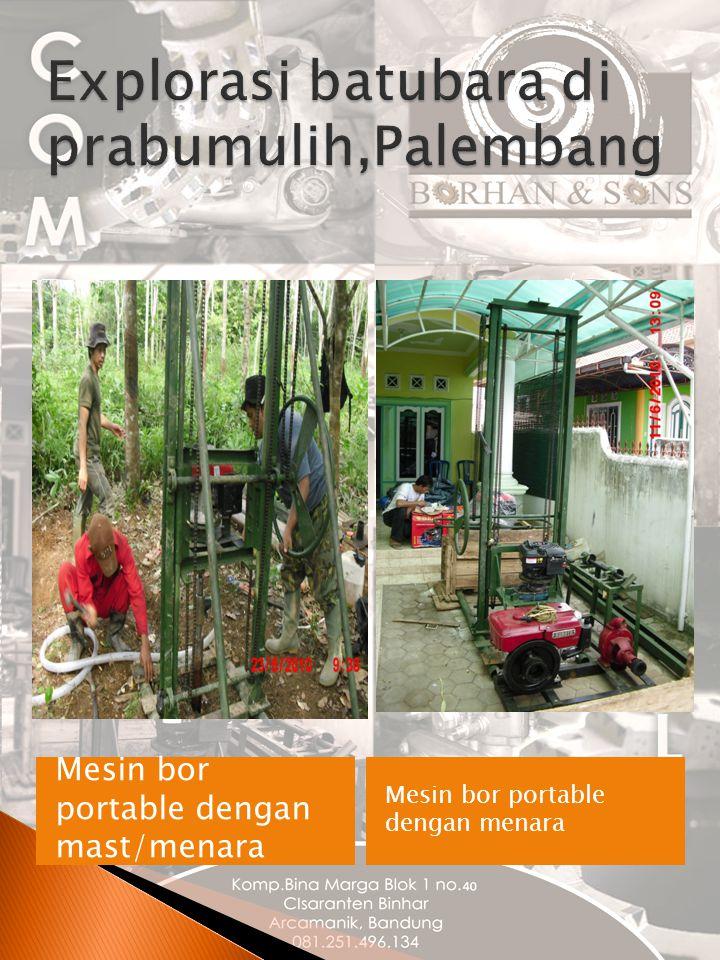 Explorasi batubara di prabumulih,Palembang