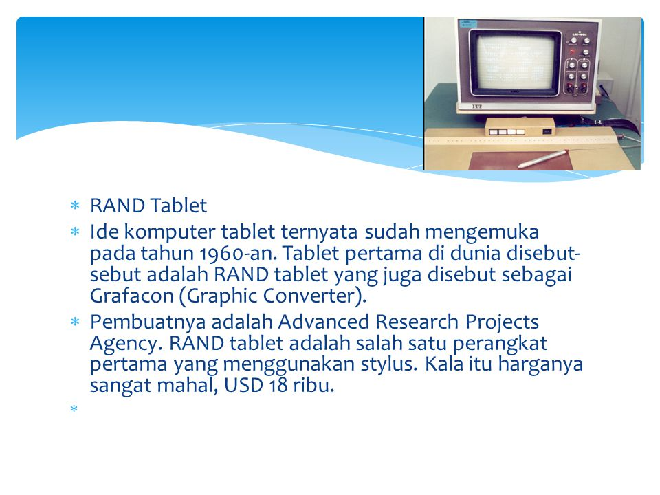 RAND Tablet