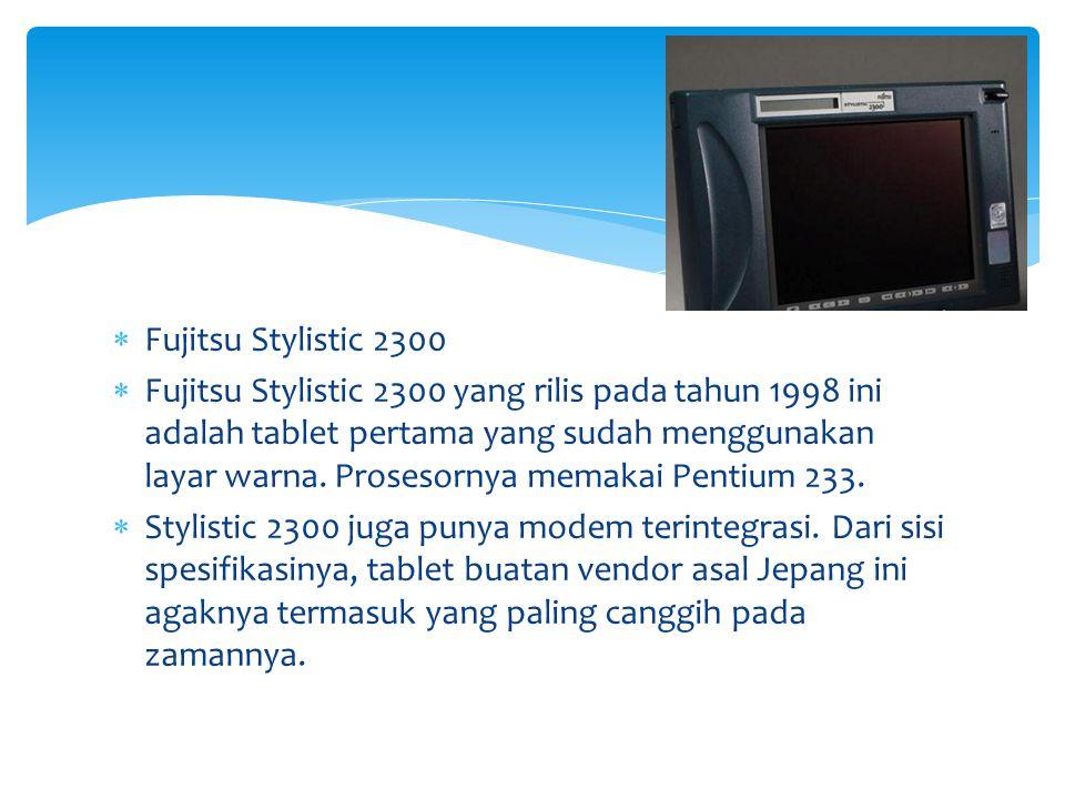 Fujitsu Stylistic 2300