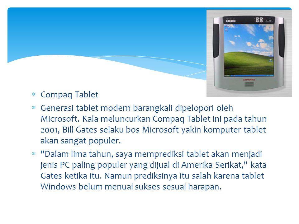 Compaq Tablet