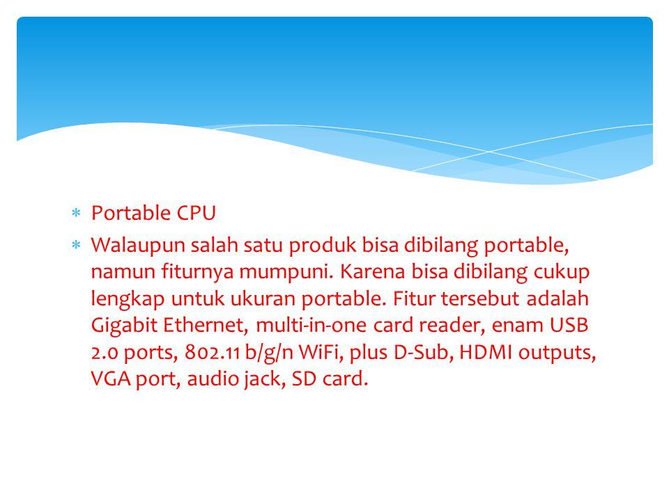 Portable CPU