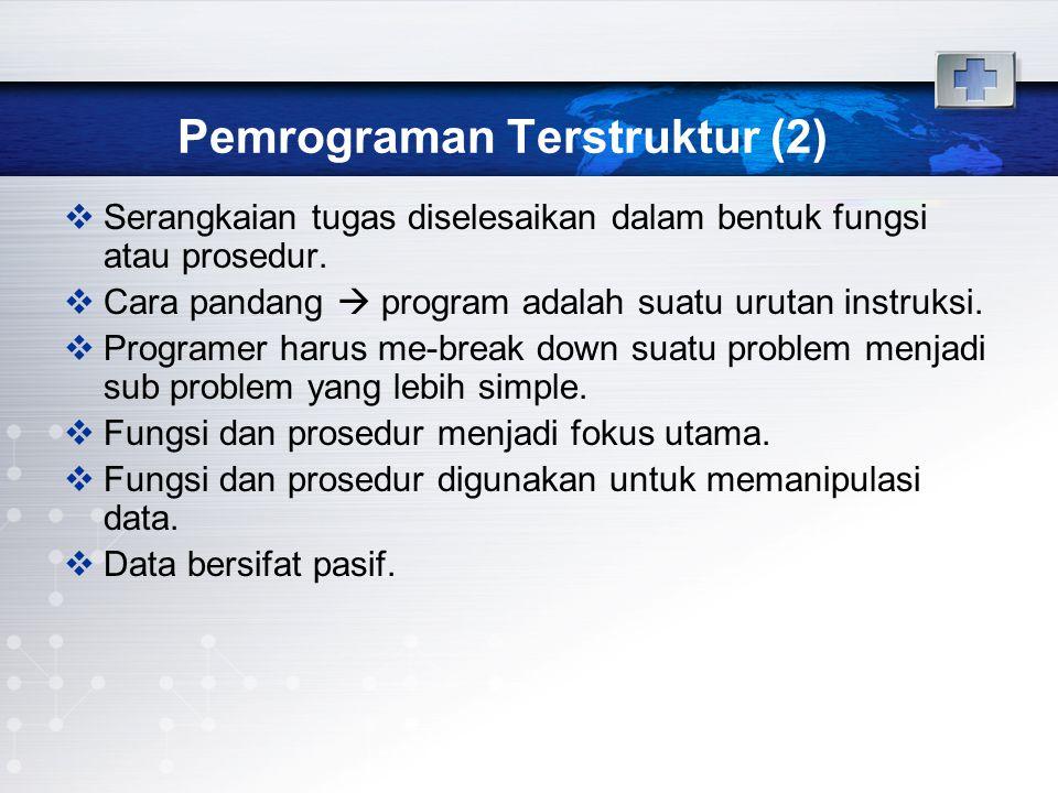 Pemrograman Terstruktur (2)
