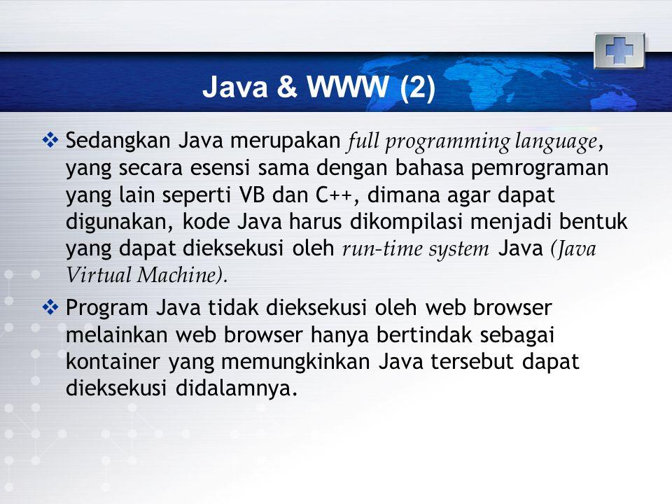 Java & WWW (2)