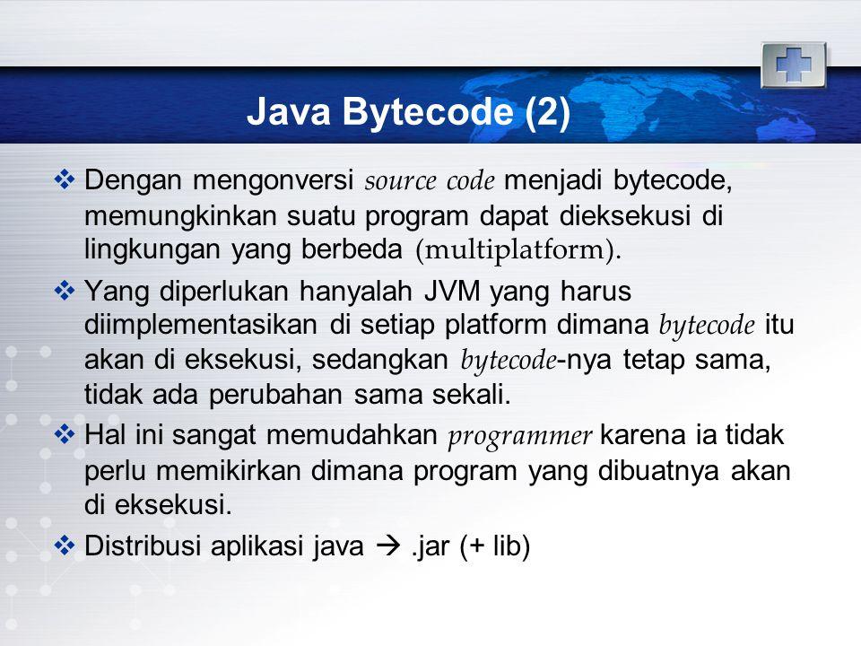 Java Bytecode (2)